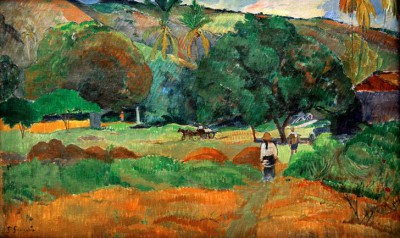 The small valley - Paul Gauguin