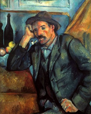 The Smoker - Paul Cézanne