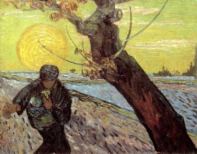 The Sower (2) - Vincent van Gogh