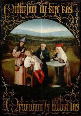 The Stone-cutter - Hieronim Bosch