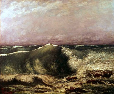 The stormwave - Gustave Courbet