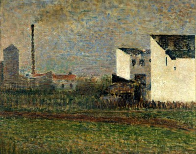 The Suburb - Georges-Pierre Seurat
