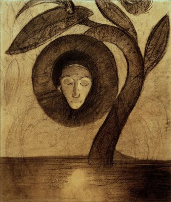 The swamp flower - Odilon Redon