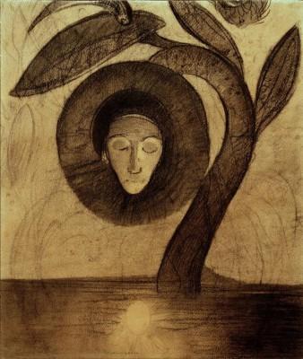 The swamp flower - Odilon Redon