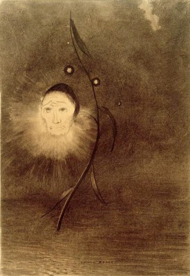 The swamp flower II - Odilon Redon
