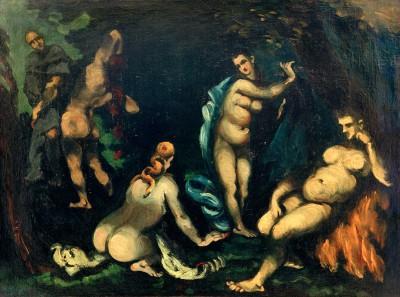 The Temptation of Saint Anthony - Paul Cézanne