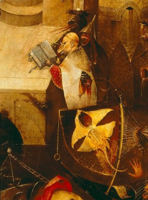 THE TEMPTATION OF ST. ANTONY (2) - Hieronim Bosch