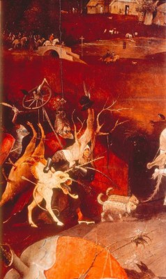 THE TEMPTATION OF ST. ANTONY - Hieronim Bosch