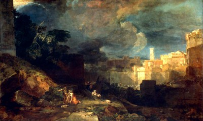 The tenth plague of Egypt - William Turner