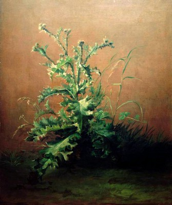 The Thistle - Édouard Manet
