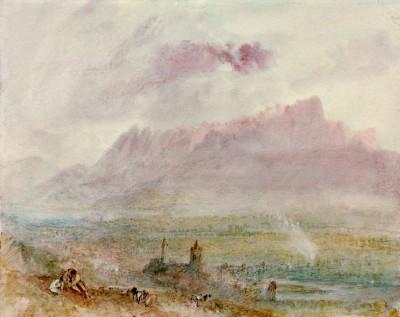 The Town an Lake of Thun - William Turner