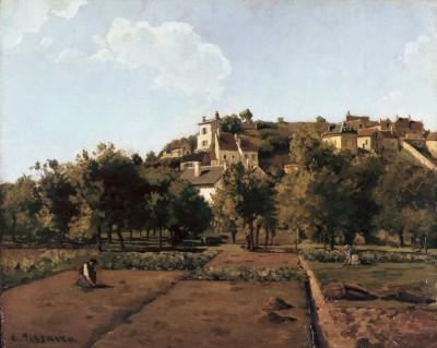 The Village of Melleraye - Camille Pissarro