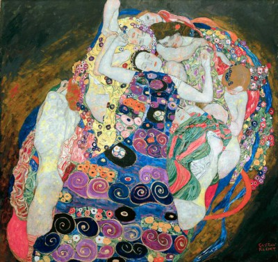 THE VIRGIN - Gustav Klimt