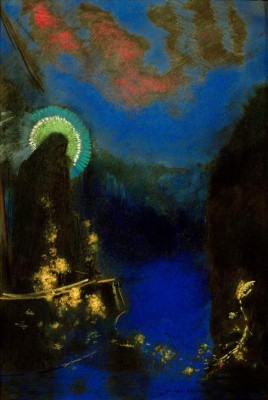 The Virgin in Glory - Odilon Redon