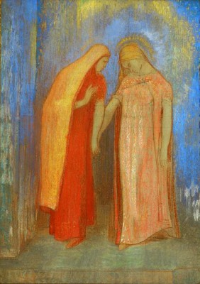 The Visitation - Odilon Redon