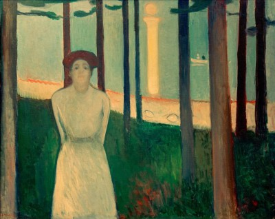 The voice (Summer night) - Edvard Munch