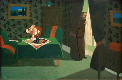The waiting - Félix Vallotton