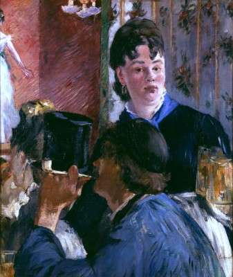The Waitress - Édouard Manet