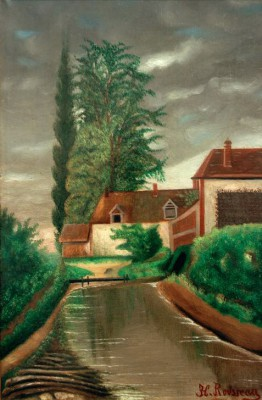 The water mill - Henri Rousseau