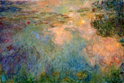 The Waterlily Pond (3) - Claude Monet