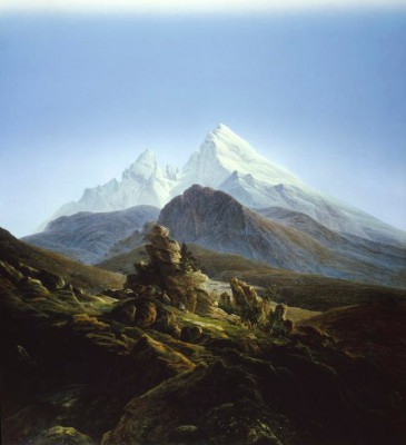 The Watzmann - Caspar David Friedrich