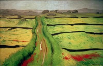 The way in the heath - Félix Vallotton