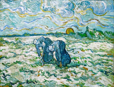 The Weeders - Vincent van Gogh