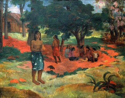 The Whispered Words II - Paul Gauguin