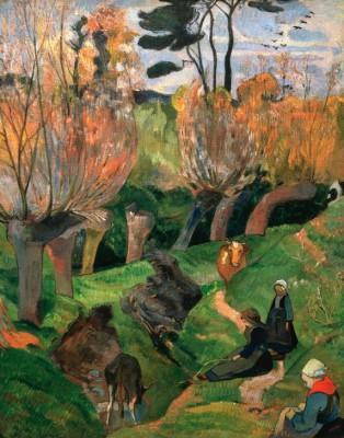 The Willows - Paul Gauguin
