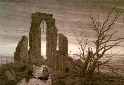 The winter - Caspar David Friedrich