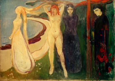 The woman (Sphinx) - Edvard Munch