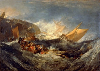 The Wreck of a Transport Ship - William Turner