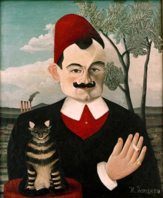 The writer Pierre Loti - Henri Rousseau
