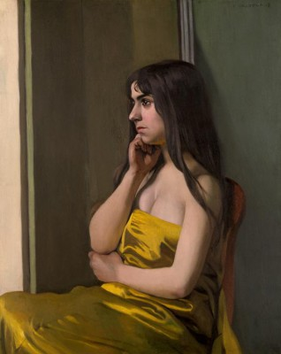 The yellow fabric - Félix Vallotton
