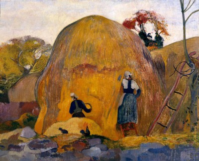 The yellow haystacks or golden harvest - Paul Gauguin