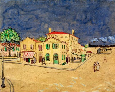 The Yellow House (2) - Vincent van Gogh