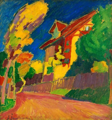 The yellow house - Aleksiej Jawlensky