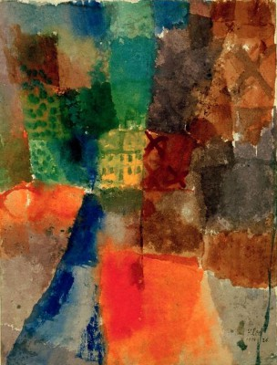 The Yellow House - Paul Klee