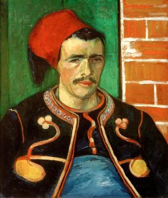 The Zouave - Vincent van Gogh