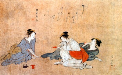 Three Drunken Women - Torii Kiyonaga