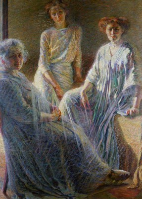 Three Women - Umberto Boccioni