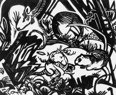 Tierlegende - Franz Marc