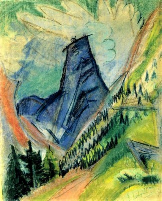 Tinzenhorn - Ernst Ludwig Kirchner