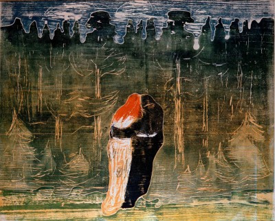 To the Forest - Edvard Munch