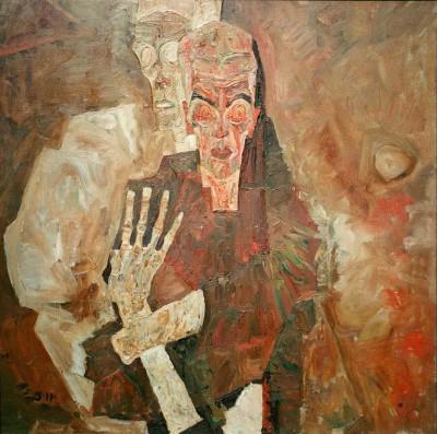 Tod und Mann - Egon Schiele