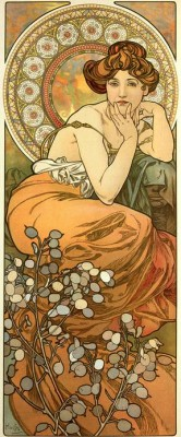 Topas - Die Edelsteine (2) - Alfons Mucha