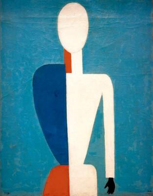 Torso (Prototype of a new figure) - Kazimierz Malewicz