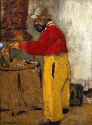 Toulouse-Lautrec am Arbeitstisch - Henri de Toulouse-Lautrec