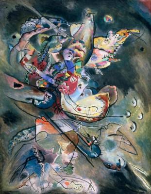 Trübe - Wassily Kandinsky