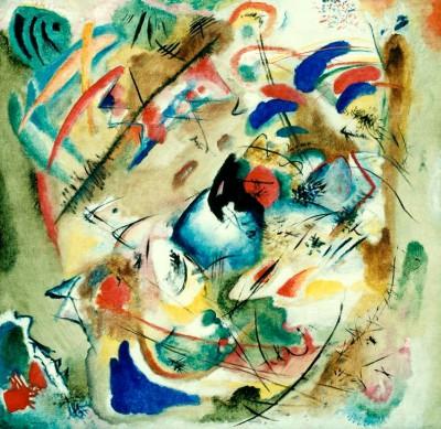 Träumerische Improvisation - Wassily Kandinsky